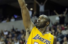 Kobe Bryant 'goes back to the playground'