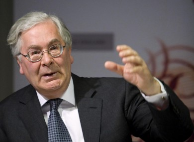 Bank of England governor Mervyn King: the BoE may now have to raise its key interest rate as inflation surges past 4 per cent.