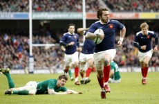 Six Nations: Medard to miss crucial Twickenham clash