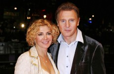 Liam Neeson still 'struck by grief' over death of wife Natasha Richardson