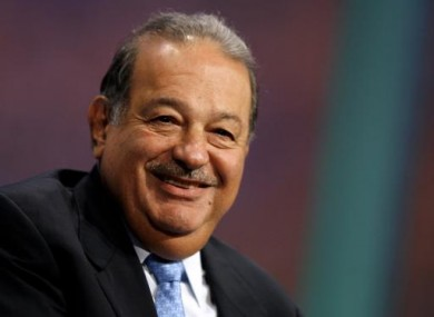 Carlos Slim Helu - the richest man on the plant.