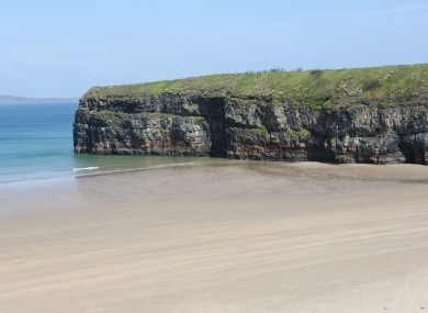 The cliffs at Ballybunion in Co Kerry