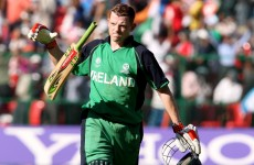Cricket hero O'Brien's bats stolen at World Cup