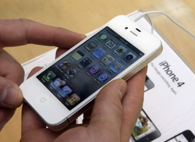 Apple released a white iPhone 4 earlier this year