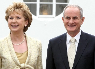 Could Martin McAleese succeed his wife as president of Ireland?