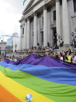 The declaration comes as Dublin's Pride Festival launches