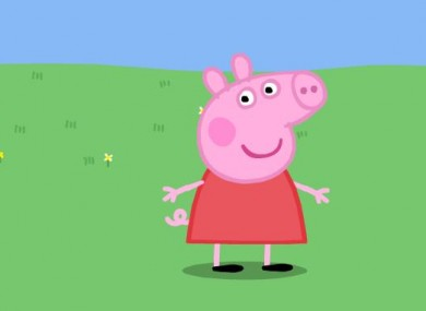 Wallowing in money: Peppa's toy deal is expected to generate around $1billion