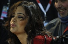 Larissa Riquelme up to her old, nudey tricks again