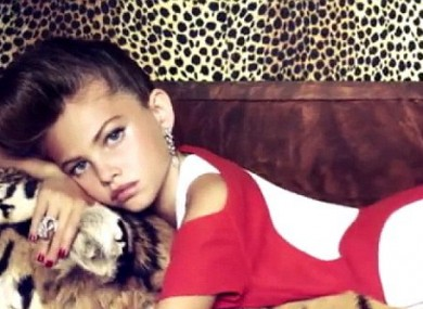 Suggestive Poses By 10 Year Old Vogue Model Spark Outrage