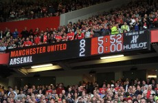 Premier League round-up: United score 8, embarrass Arsenal