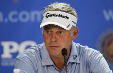 Darren Clarke will play Gleneagles (if he absolutely has to)