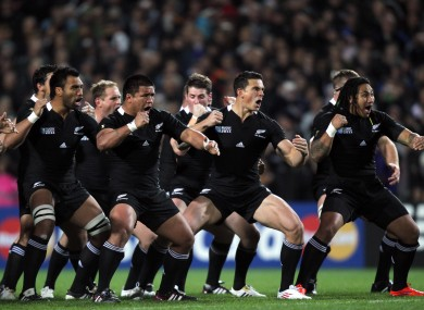 We may not see the haka at the next Rugby World Cup if the two sides fail to reach an agreement.