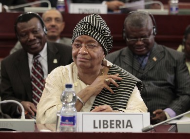 Liberian president Ellen Johnson Sirleaf is one of three recipients of this year's Nobel Peace Prize.
