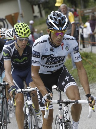 Contador competed in this year's Tour de France.