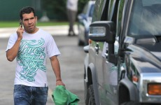 Guilty: Tevez fined four weeks' wages for Munich misconduct