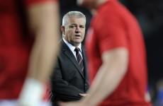 "Gatland: ""I feel personally let down"""