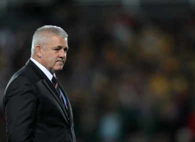 Gatland's current contract runs out in 2015.