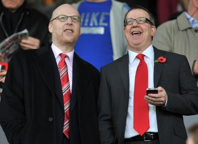 The Glazers have been the subject of criticism from United fans since their 2005 takeover.