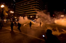 In photos: Riot police clash with Occupy Oakland protesters