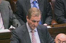 Kenny tells Dáil: 'I have an answer to the euro problem'