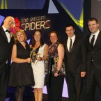 The winner of the Sports catagory of the Eircom Spider Awards 2011 is 1 Escape