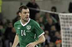 Gibson a doubt for Estonia playoff, as Ireland's injury woes continue