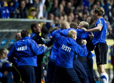 Estonia have enjoyed their most successful qualifying campaign ever.