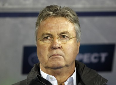 Hiddink has managed five international teams in total.