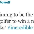 Graeme McDowell - like the rest of us - was amazed by Darren Clarke's remarkable achievement.
