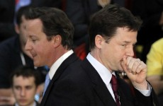 Cameron to face Commons grilling after Clegg attacks EU veto