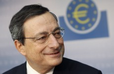 ECB's Draghi: eurozone may re-enter recession next year