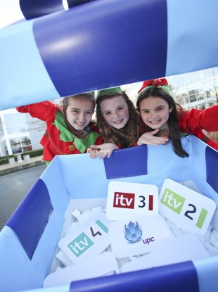 'Elves' deliver UPC's Christmas present to subscribers.