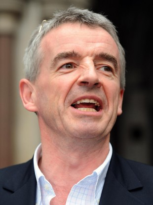 Ryanair chief Michael O'Leary (File photo)