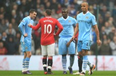 Bad Kompany: Rooney defends himself as red card row rages on