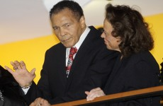 Muhammad Ali cheered at 70th birthday bash