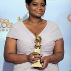 Octavia Spencer, star of The Help, after winning Best Supporting Actress in a Motion Picture. (AP Photo/Mark J. Terrill/PA Images)