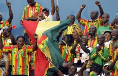 On song: here's how Ghana prepared for their ACN opener