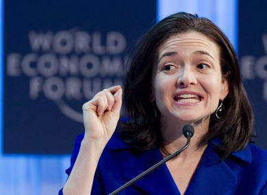 Facebook's COO Sheryl Sandberg - considered the site's