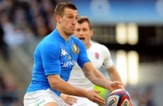 Italy make four changes for trip to Dublin
