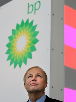 BP Group Chief Executive Bob Dudley,