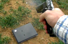 WATCH: Angry dad shoots daughter's laptop – nine times – over Facebook post