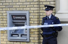Attempted armed robbery on Dublin ATM