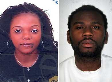 Undated Met Police handout photos of Magalie Bamu (left) and Eric Bikubi.