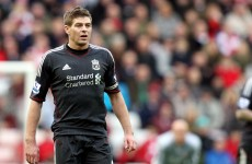'It's just not good enough' – Gerrard