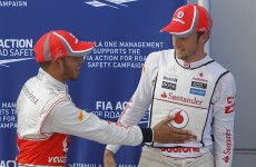 Hamilton edges Button in Malaysia