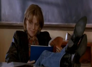 Michelle Pfieffer laid down the law in the classroom in the 1995 movie Dangerous Minds
