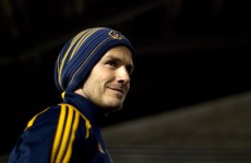 "VIDEO: ""I haven't done that for years."" David Beckham scores a beauty…"