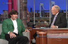 WATCH: Bubba Watson on the Late Show with David Letterman
