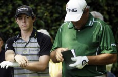 I've seen this one before: McIlroy and Cabrera reunited at Augusta