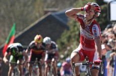 Rodriguez conquers 'wall' to take Flèche Wallonne